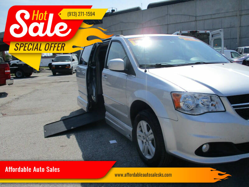 2012 Dodge Grand Caravan for sale at Affordable Auto Sales in Olathe KS