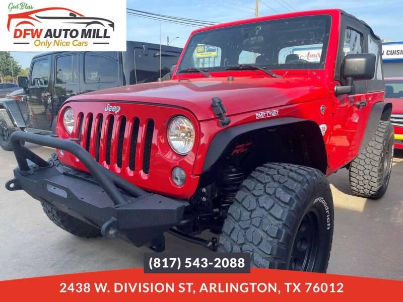 2017 Jeep Wrangler for sale in Arlington, TX