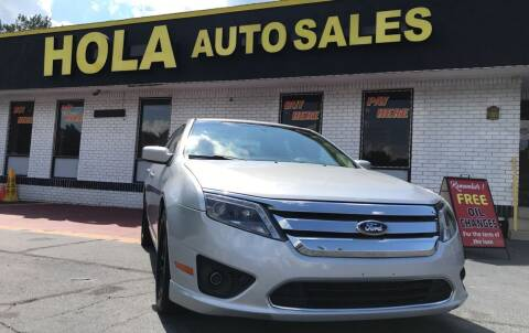 2011 Ford Fusion for sale at HOLA AUTO SALES CHAMBLEE- BUY HERE PAY HERE - in Atlanta GA