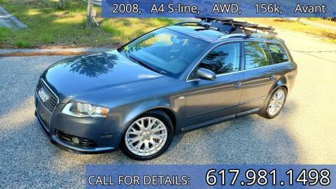 2008 Audi A4 for sale at Wheeler Dealer Inc. in Acton MA