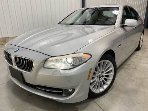 2013 BMW 5 Series for sale at EUROPEAN AUTOHAUS, LLC in Holland MI