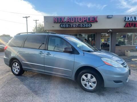 2008 Toyota Sienna for sale at NTX Autoplex in Garland TX