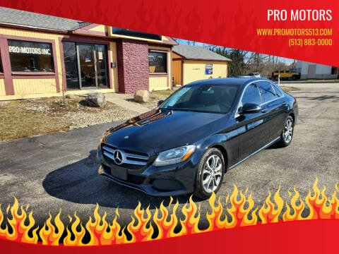2017 Mercedes-Benz C-Class for sale at Pro Motors in Fairfield OH