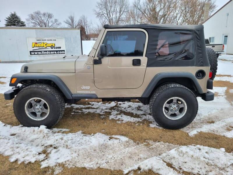 2004 Jeep Wrangler for sale at ROB'S AUTO SALES in Ridgeway IA