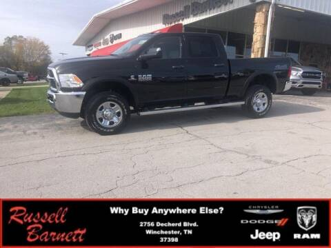 2018 RAM Ram Pickup 2500 for sale at Russell Barnett Chrysler Dodge Jeep Ram in Winchester TN