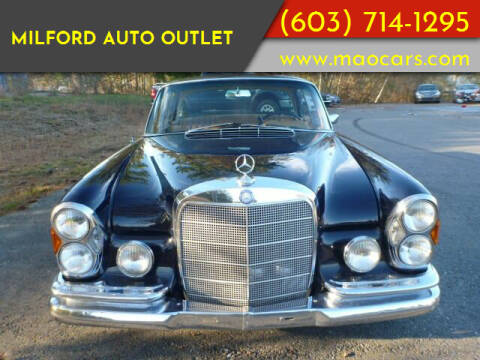 1967 Mercedes-Benz 300-Class for sale at Milford Auto Outlet in Milford NH