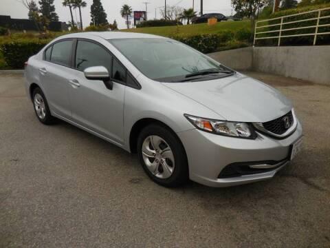 2015 Honda Civic for sale at ARAX AUTO SALES in Tujunga CA