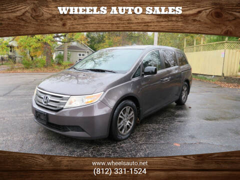 2011 Honda Odyssey for sale at Wheels Auto Sales in Bloomington IN