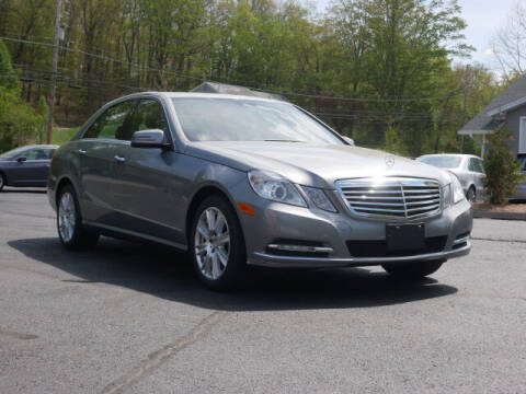 2013 Mercedes-Benz E-Class for sale at Canton Auto Exchange in Canton CT