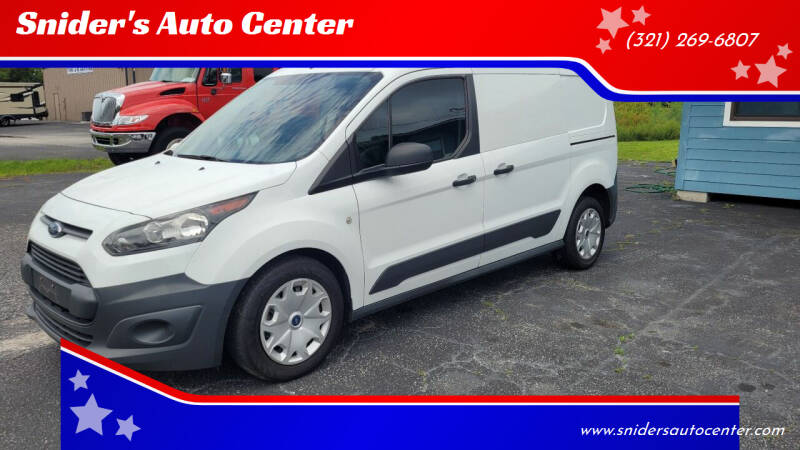 2017 Ford Transit Connect Cargo for sale at Titus Trucks in Titusville FL