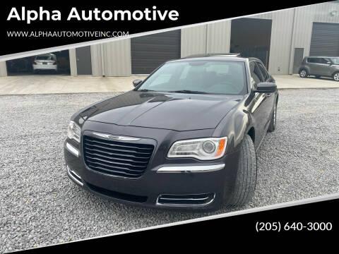 2014 Chrysler 300 for sale at Alpha Automotive in Odenville AL