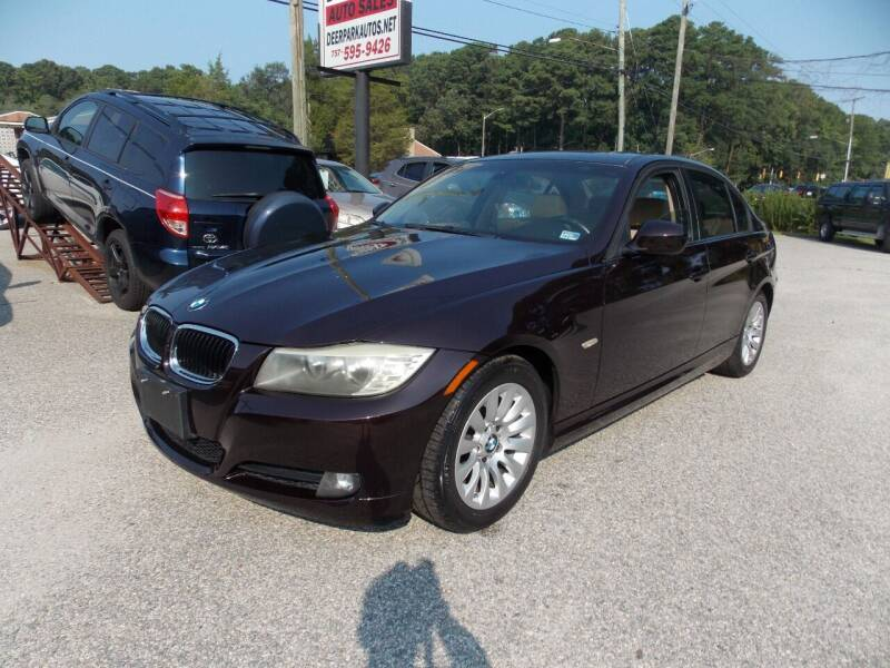 2009 BMW 3 Series for sale at Deer Park Auto Sales Corp in Newport News VA