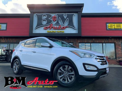 2013 Hyundai Santa Fe Sport for sale at B & M Auto Sales Inc. in Oak Forest IL