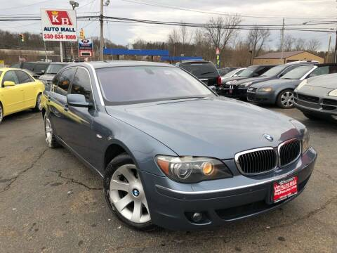 2006 BMW 7 Series for sale at KB Auto Mall LLC in Akron OH