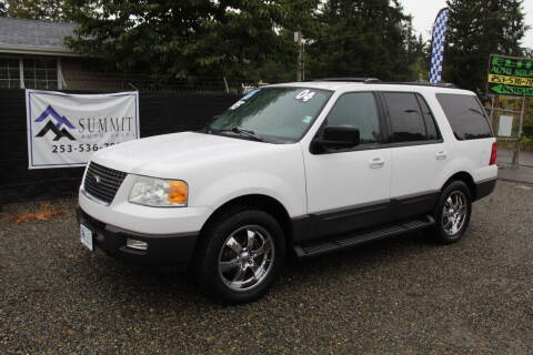 2004 Ford Expedition for sale at Summit Auto Sales in Puyallup WA