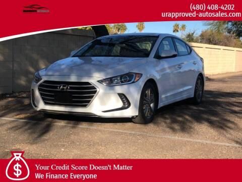 2018 Hyundai Elantra for sale at UR APPROVED AUTO SALES LLC in Tempe AZ