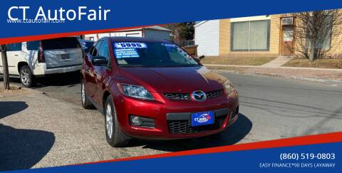 2007 Mazda CX-7 for sale at CT AutoFair in West Hartford CT