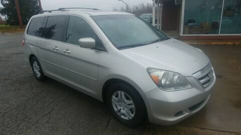 2007 Honda Odyssey for sale at AutoBoss PRE-OWNED SALES in Saint Clairsville OH