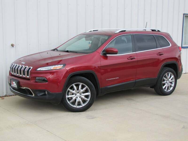 2017 Jeep Cherokee for sale at Lyman Auto in Griswold IA