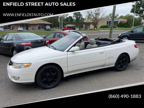 2001 Toyota Camry Solara for sale at ENFIELD STREET AUTO SALES in Enfield CT