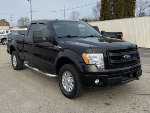 2013 Ford F-150 for sale at Miller Auto Sales in Saint Louis MI
