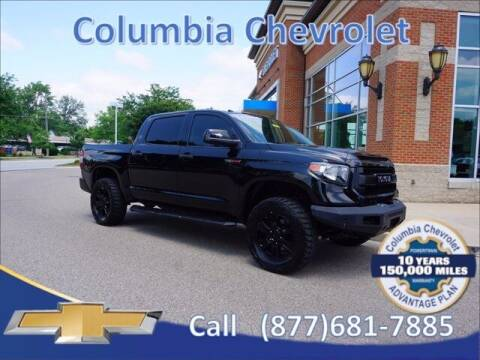 2017 Toyota Tundra for sale at COLUMBIA CHEVROLET in Cincinnati OH