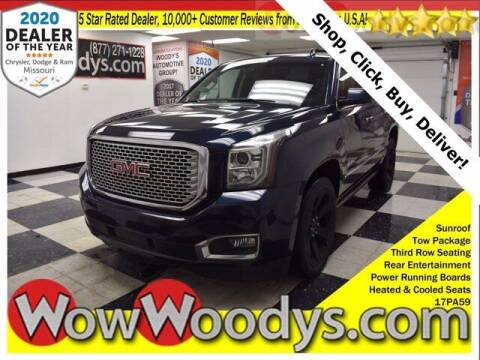 2017 GMC Yukon for sale at WOODY'S AUTOMOTIVE GROUP in Chillicothe MO