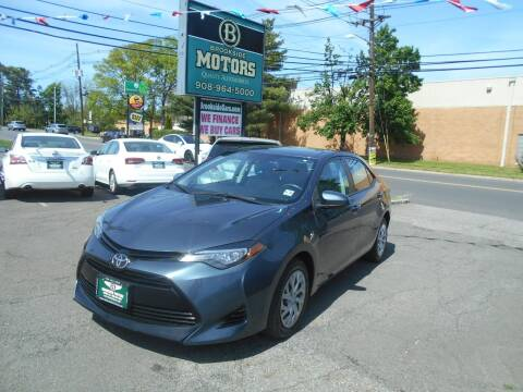 2017 Toyota Corolla for sale at Brookside Motors in Union NJ