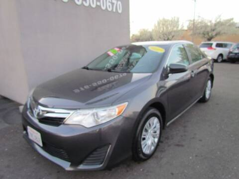 2012 Toyota Camry for sale at LIONS AUTO SALES in Sacramento CA