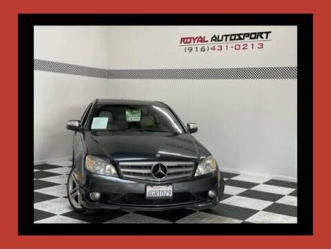 2009 Mercedes-Benz C-Class for sale at Royal AutoSport in Sacramento CA