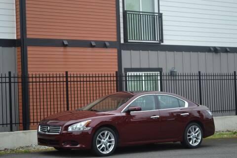 2012 Nissan Maxima for sale at Skyline Motors Auto Sales in Tacoma WA