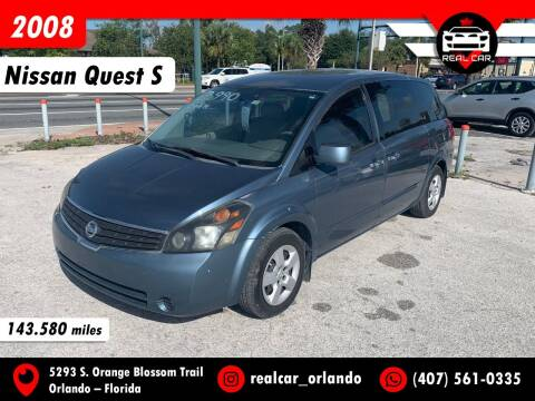 2008 Nissan Quest for sale at Real Car Sales in Orlando FL
