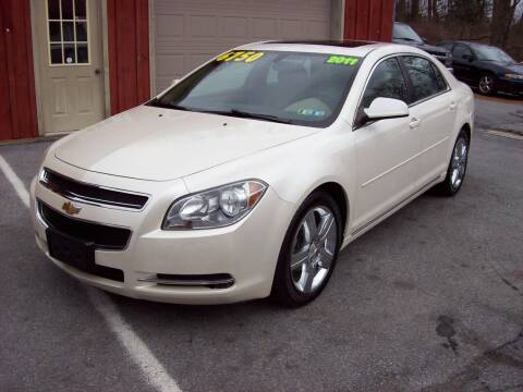 2011 Chevrolet Malibu for sale at Clift Auto Sales in Annville PA
