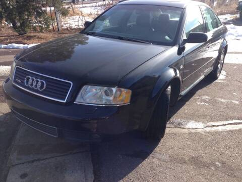 2000 Audi A6 for sale at Cherry Motors in Castle Rock CO