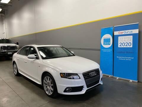 2012 Audi A4 for sale at Loudoun Motors in Sterling VA