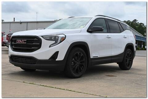 2021 GMC Terrain for sale at STRICKLAND AUTO GROUP INC in Ahoskie NC
