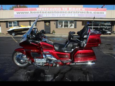 1999 Honda GL 1500 SE Gold Wing for sale at Kents Custom Cars and Trucks in Collinsville OK