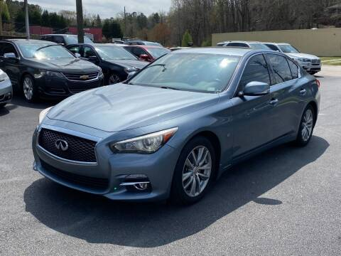 2014 Infiniti Q50 for sale at Luxury Auto Innovations in Flowery Branch GA