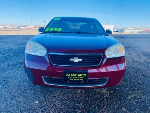 2007 Chevrolet Malibu for sale at Island Auto Express in Grand Island NE