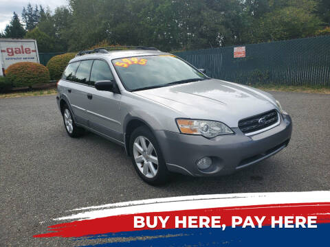 2007 Subaru Outback for sale at Car Craft Auto Sales Inc in Lynnwood WA