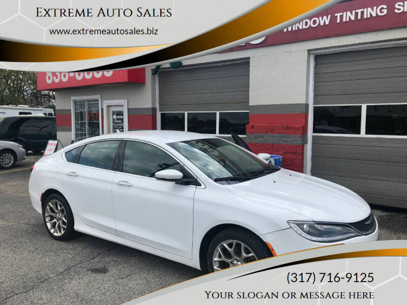 2015 Chrysler 200 for sale at Extreme Auto Sales in Plainfield IN