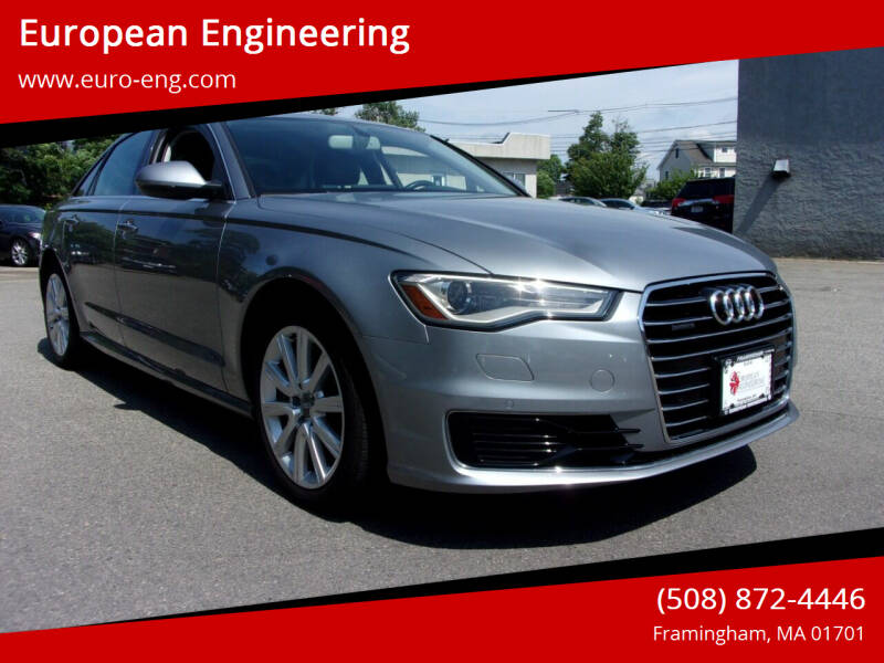 2016 Audi A6 for sale at European Engineering in Framingham MA