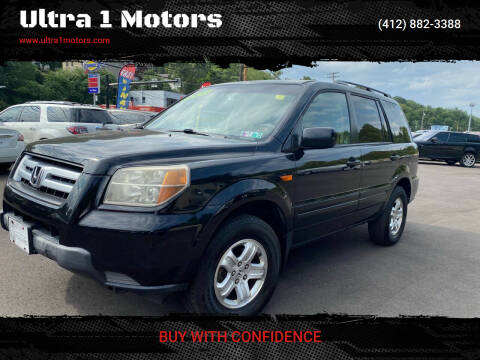 2008 Honda Pilot for sale at Ultra 1 Motors in Pittsburgh PA