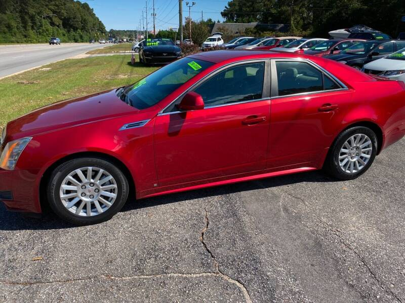 2010 Cadillac CTS for sale at TOP OF THE LINE AUTO SALES in Fayetteville NC