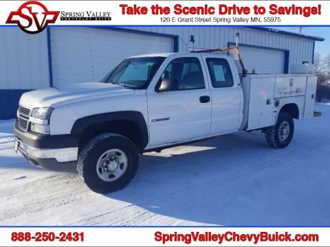 2005 Chevrolet Silverado 2500HD for sale at Spring Valley Chevrolet Buick in Spring Valley MN
