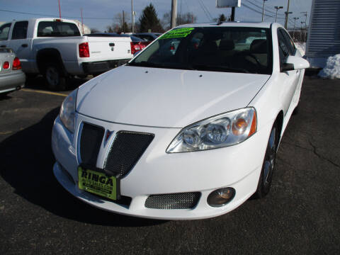 2009 Pontiac G6 for sale at Ringa Auto Sales in Arlington Heights IL
