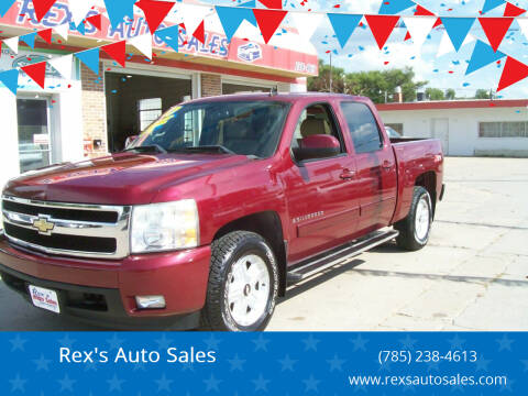 2007 Chevrolet Silverado 1500 for sale at Rex's Auto Sales in Junction City KS