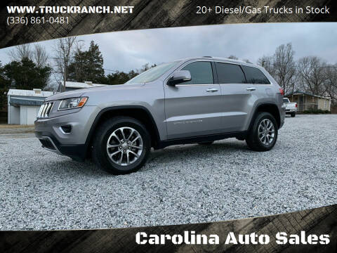 2014 Jeep Grand Cherokee for sale at Carolina Auto Sales in Trinity NC
