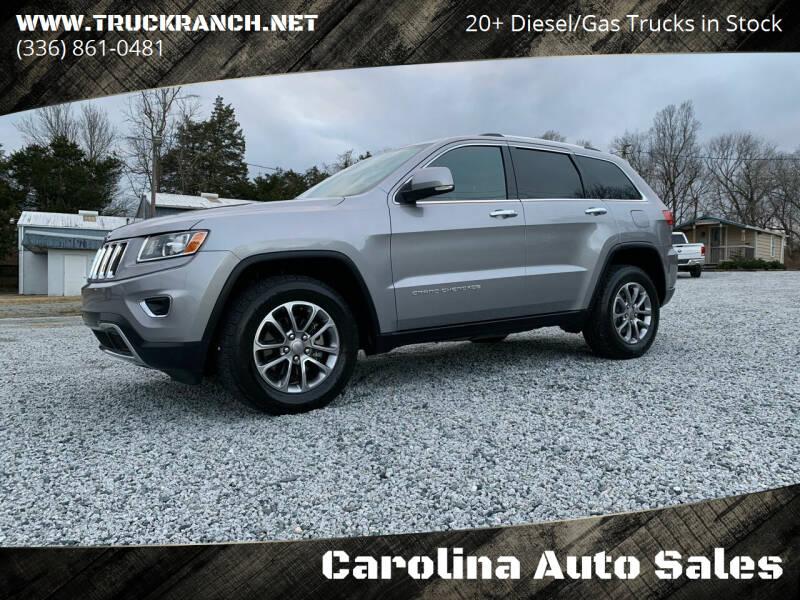 2014 Jeep Grand Cherokee for sale at Carolina Auto Sales in Trinity NC