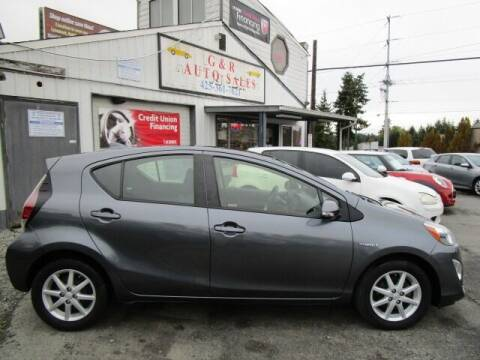 2016 Toyota Prius c for sale at G&R Auto Sales in Lynnwood WA
